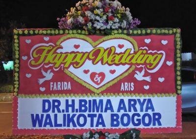 Karangan bunga Bandung (4)