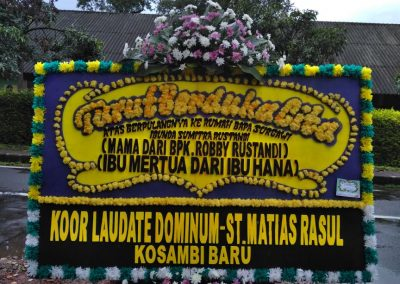 Karangan bunga Bandung (8)