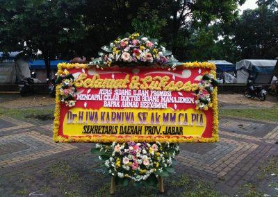 Bunga papan bandung 1